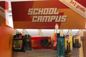 schoolcampus bij Albert Heijn