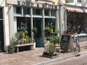 entree rood en bloem Utrecht