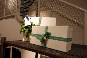 Cadeaus decoratie kerstsfeer