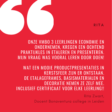 Quote docent vmbo